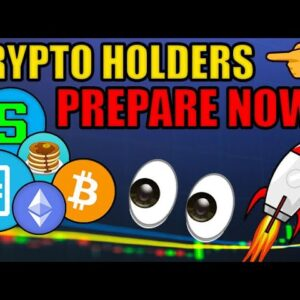 PREPARE FOR CRYPTO'S INSANE NEXT MOVE! IT'S GETTING VERY CRAZY FOR ALTCOINS RIGHT NOW! NFT DeFi News