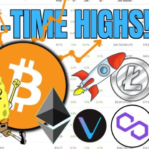 CRYPTOCURRENCY BIGGER Than Ever 🚀 Bitcoin, Ethereum, Uniswap, Binance +VeChain All Time Highs 🔥🔥🔥