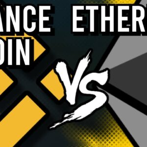 CAN BINANCE COIN (BNB) OVERTAKE ETHEREUM (ETH)?