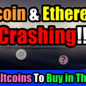 Bitcoin & Cryptocurrency Flash Crashing in April! | Top 5 Hidden Gem Altcoins To Buy in The Dip!?