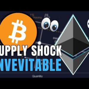 Ethereum and Bitcoin Supply Crisis Deepens - Why I'm BULLISH 🚀