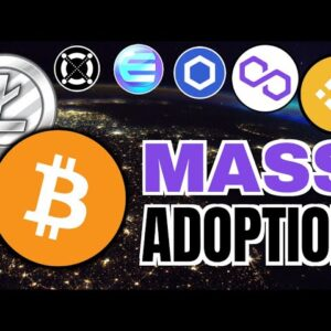 CRYPTO Mass Adoption GROWING!! Chainlink, Enjin, Elrond, Litecoin, Kusama, Grayscale & Gucci 🔥