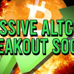 ATTENTION: MASSIVE BITCOIN BREAKOUT SOON!! ALTCOIN DOMINANCE RISING 🚀