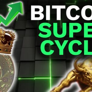 SHOCKING DATA!! Bitcoin SUPER CYCLE is upon us! Targets $400K BTC