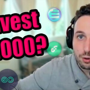How I Would Invest $1,000 in Cryptocurrency in 2021 [NFT Edition] | Top NFT Altcoins in April
