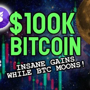$100K BITCOIN INCOMING! These coins are going to explode with gains as BTC moon!