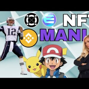 Tom Brady and Paris Hilton Enter NFTs | 1inch, ENJIN, Coinbase Pro, Elrond, PAID and Pokemon 🚀