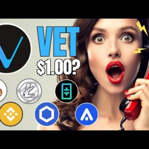 VeChain Top 5 Cryptocurrency? 🚀 | NFTs, Stellar, Cardano, Litecoin ETPs and YouTube Scammers!
