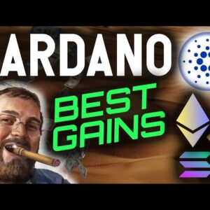 CARDANO ECOSYSTEM IS ABOUT TO MAKE HOLDERS THE BEST GAINS