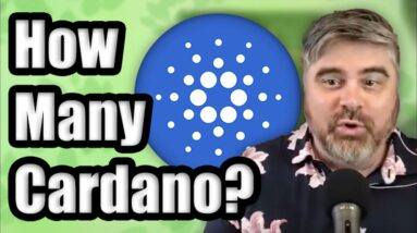How Much Cardano (ADA) Do I Need To Become A Cryptocurrency Millionaire in 2021? | BitBoy Crypto
