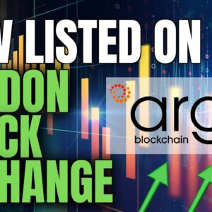 HUGE!! Crypto Mining Company Lists ON LONDON STOCK EXCHANGE! ARGO BLOCKCHAIN