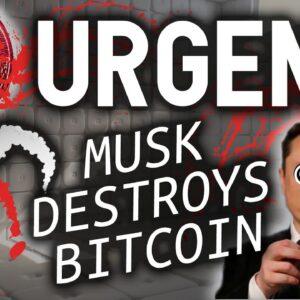 URGENT!! ELON MUSK JUST DESTROYED BITCOIN!!