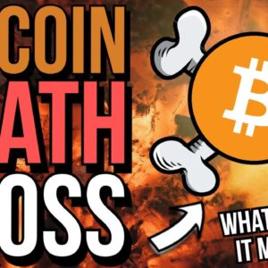 ☠� BITCOIN DEATH CROSS HAPPENED! ☠� WHAT HISTORY TELLS US...