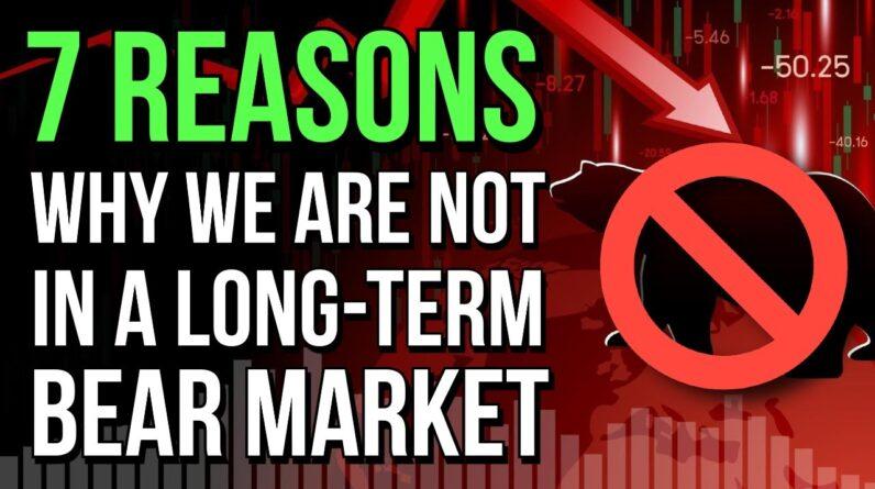 🤔 7 REASONS WHY THIS ISN'T A LONG-TERM BEAR MARKET! 🤔