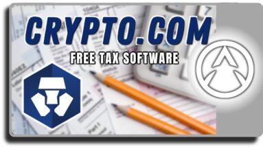 Crypto.com Introduces Spectacular New Tax Software Tool