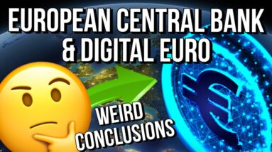 🚨 ECB WORKING ON DIGITAL EURO = WEIRD CONCLUSIONS 🚨 + BITCOIN PRICE OVERVIEW