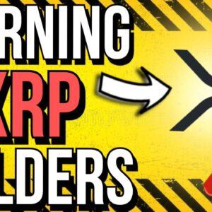 😣 XRP & BITCOIN BEARISH WEEKS AHEAD?! 😣