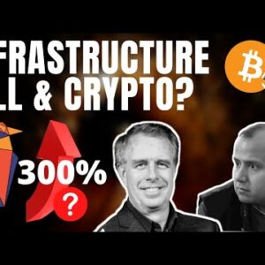 Infrastructure Bill and Crypto and Bitcoin! RVN up 300% with Ravencoin's Tron Black
