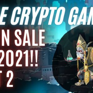 Crypto Games & Altcoins About to Explode in 2021 - Don't Miss!!