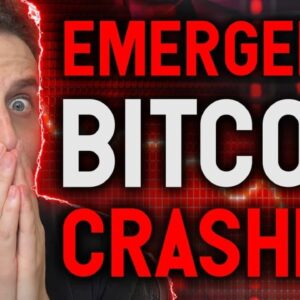 EMERGENCY!! BITCOIN CRASHING NOW!! Do not let whales steal your coins!