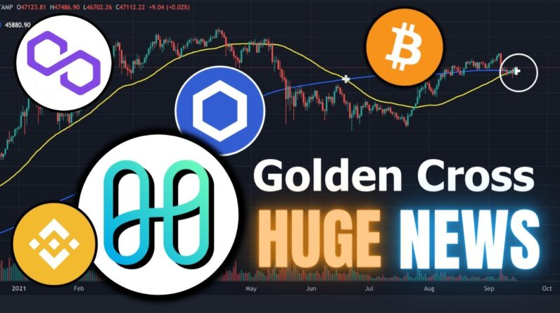 BIG Crypto News: Bitcoin Golden Cross, Harmony ONE on FTX, LINK, BSC and MATIC 🚀