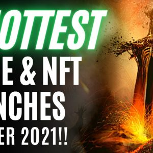 DON'T MISS!! Upcoming NEW Play To Earn Games & NFT Projects | Oct 2021